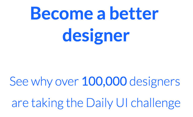 Daily UI Design Challenge, Inspiration, and Resources